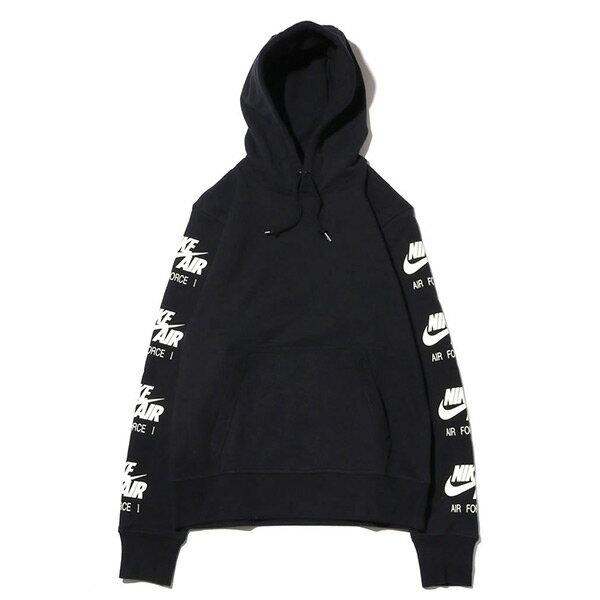 【ESTO】NikeAsMNkAtmosConHoodieAQ9135-010連帽帽Tee黑H1123