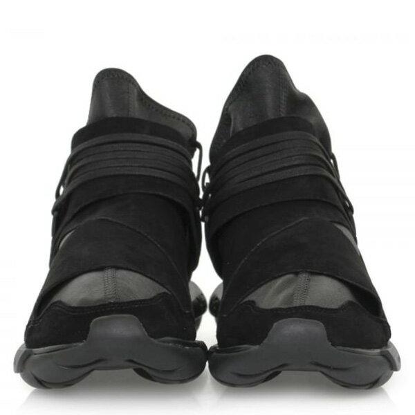 【EST O】Adidas Y-3 Qasa High Bb4733 山本耀司 忍者鞋 男鞋 黑 G0822 2