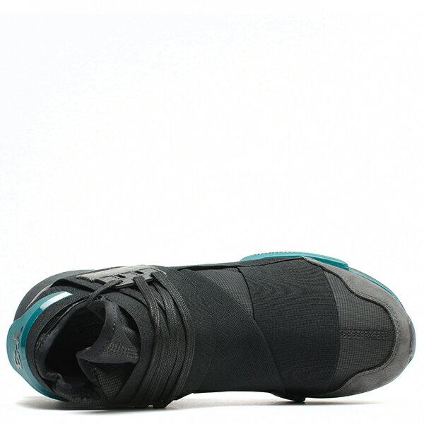 【EST O】Adidas Y-3 Qasa High BB4735 高筒 忍者鞋 男女鞋 黑綠 G0905 3