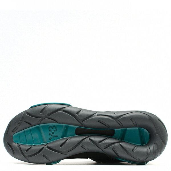 【EST O】Adidas Y-3 Qasa High BB4735 高筒 忍者鞋 男女鞋 黑綠 G0905 4