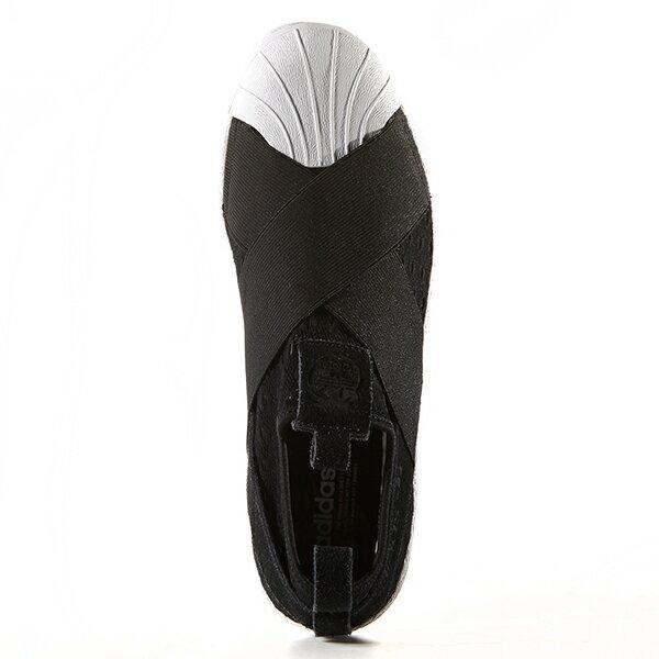 【EST O】Adidas Originals Superstar Slip On S74986 繃帶鞋 黑白 G0905 1