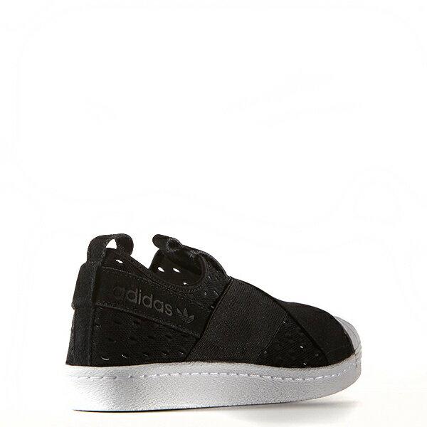 【EST O】Adidas Originals Superstar Slip On S74986 繃帶鞋 黑白 G0905 4