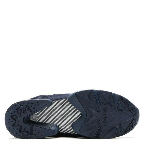 【EST O】Reebok Insta Pump Fury Tech V63499 防彈布 慢跑鞋 男女鞋 深藍 G0223 4