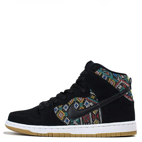 【EST S】Nike Dunk High Premium Sb 313171 030 黑民俗圖騰麂皮滑板鞋 男鞋 G1012 0