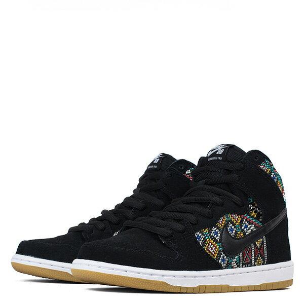 【EST S】Nike Dunk High Premium Sb 313171 030 黑民俗圖騰麂皮滑板鞋 男鞋 G1012 1
