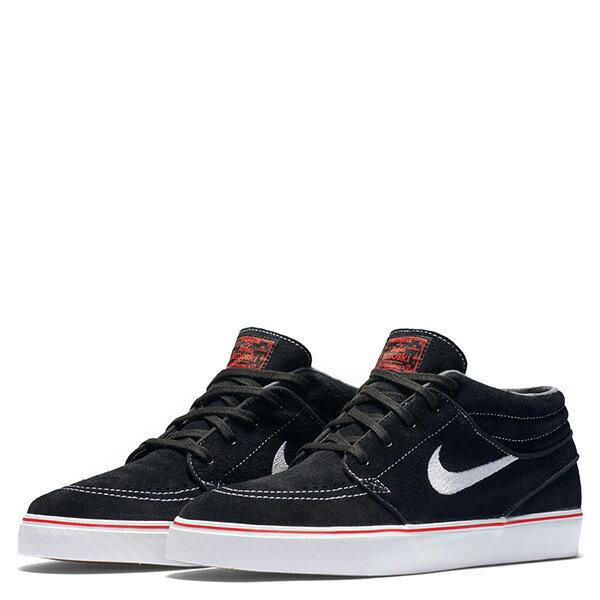 【EST S】Nike Zoom Stefan Janoski 443095-017 中筒 紅線 休閒鞋 男女鞋 黑 G1011 1