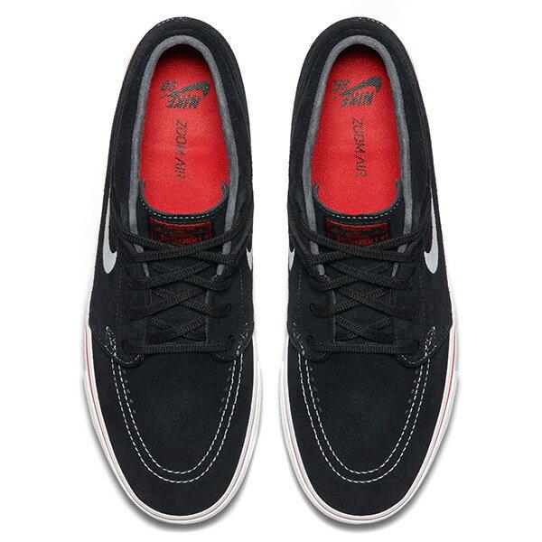 【EST S】Nike Zoom Stefan Janoski 443095-017 中筒 紅線 休閒鞋 男女鞋 黑 G1011 2