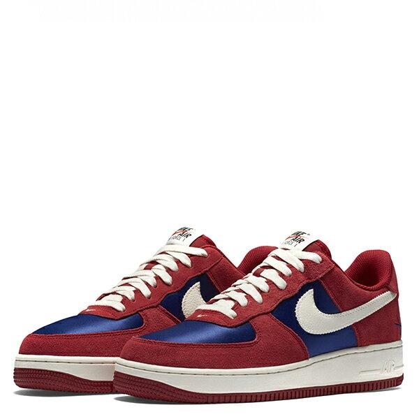 【EST S】Nike Air Force 1 488298-626 紅藍白麂皮尼龍布剪刀 男鞋 G1012 1