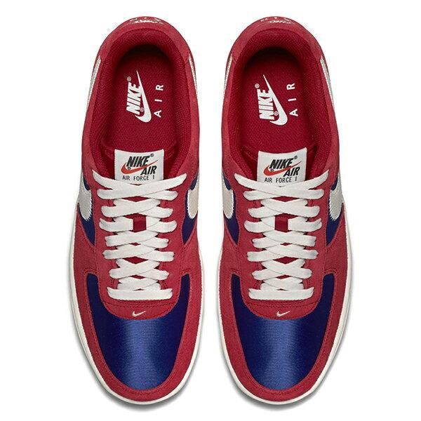 【EST S】Nike Air Force 1 488298-626 紅藍白麂皮尼龍布剪刀 男鞋 G1012 2