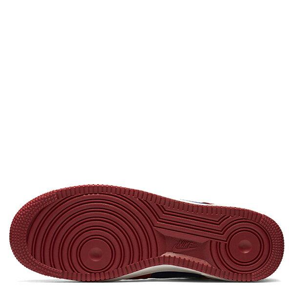 【EST S】Nike Air Force 1 488298-626 紅藍白麂皮尼龍布剪刀 男鞋 G1012 4