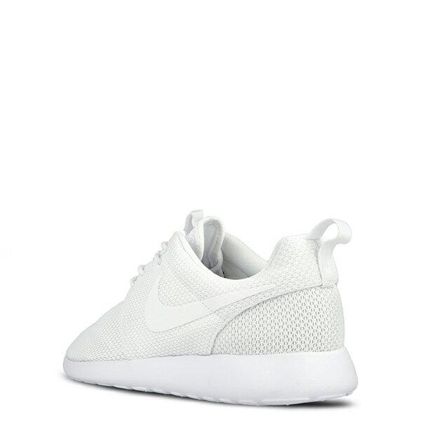 【EST S】Nike Rosherun One 511881-112 全白網面透氣慢跑鞋 男鞋 G1012 2