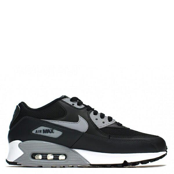 【EST S】Nike Air Max 90Essential 2016 537384-056 黑灰皮革氣墊慢跑鞋 男鞋 G1012 1