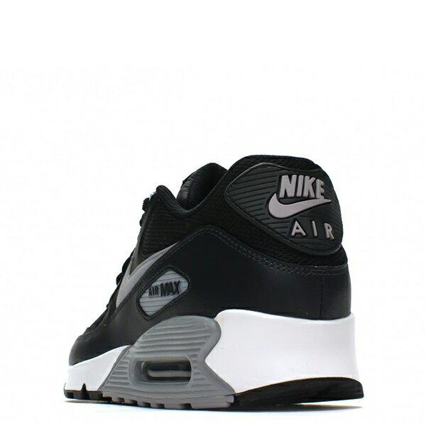 【EST S】Nike Air Max 90Essential 2016 537384-056 黑灰皮革氣墊慢跑鞋 男鞋 G1012 4