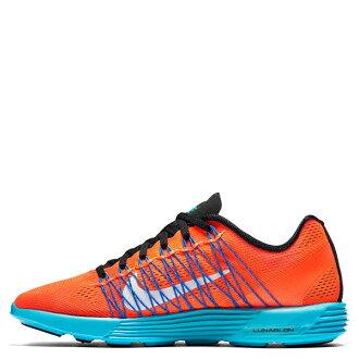 【EST S】NIKE WMNS LUNARACER+ 3 554683-804 飛線 慢跑鞋 女鞋 橘藍 G1011