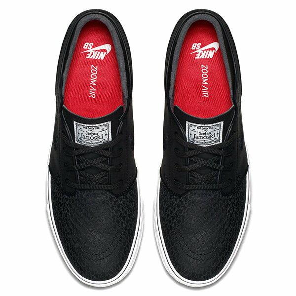 【EST S】Nike Zoom Stefan Janoski L 616490-016 鱗片 休閒鞋 男鞋 黑 G1011 2