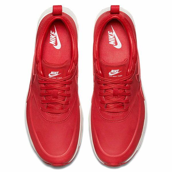 【EST S】Nike Air Max Thea Prm 616723-602 赤足 氣墊 慢跑鞋 女鞋 紅 G1011 2