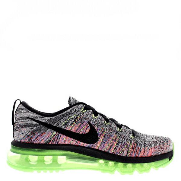 【EST S】Nike Flyknit Max 620659-103 灰粉橘編織全氣墊慢跑鞋 女鞋 G1012 1