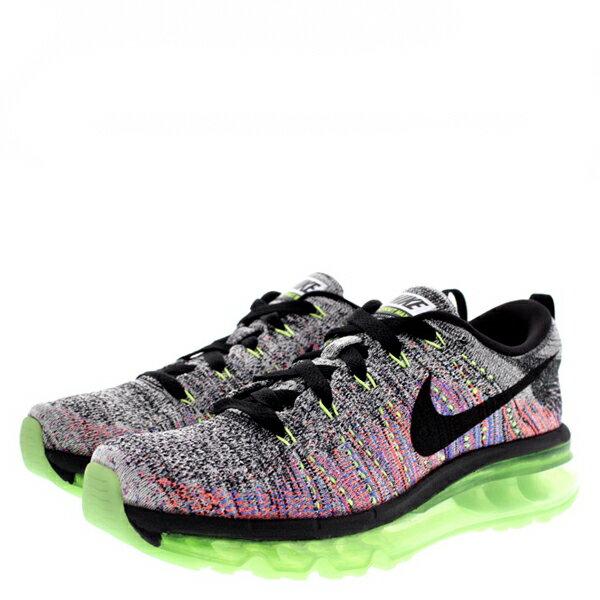 【EST S】Nike Flyknit Max 620659-103 灰粉橘編織全氣墊慢跑鞋 女鞋 G1012 2