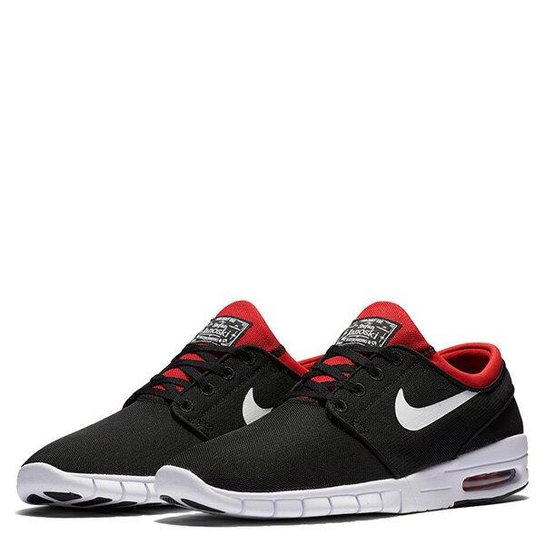 【EST】Nike Stefan Janoski Max Sb 631303-016 氣墊 休閒 滑板鞋 男鞋 黑紅 [NI-4412-002] G0623 1