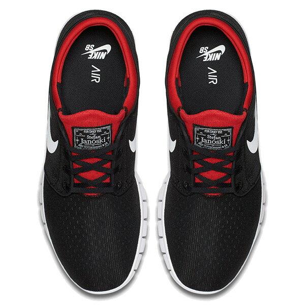 【EST】Nike Stefan Janoski Max Sb 631303-016 氣墊 休閒 滑板鞋 男鞋 黑紅 [NI-4412-002] G0623 2