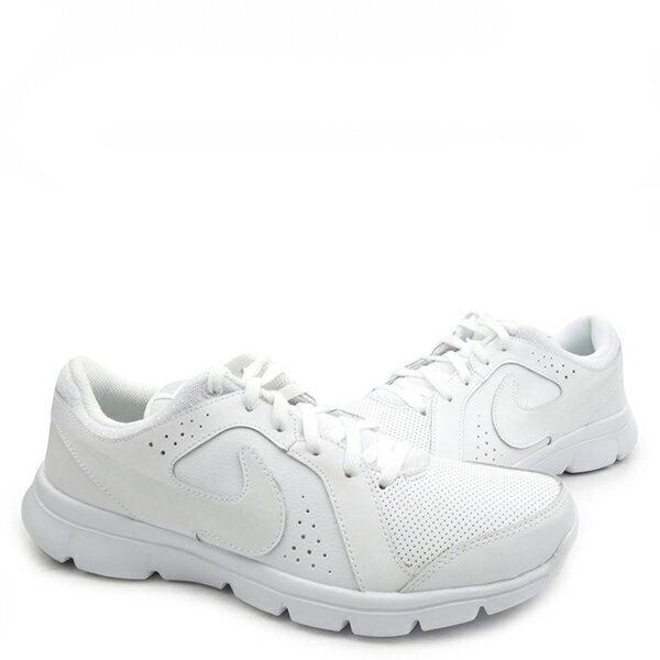 【EST S】Nike Flex Experience Ltr Gs 631495-100 慢跑鞋 全白 大童鞋 G1012 2