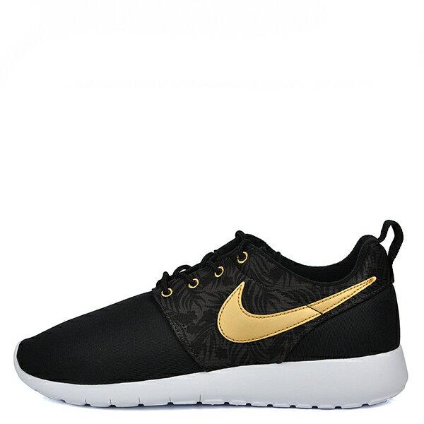 【EST S】Nike Rosherun One Gs Print 677782-010 白底黑金慢跑鞋 大童鞋 G1012 0