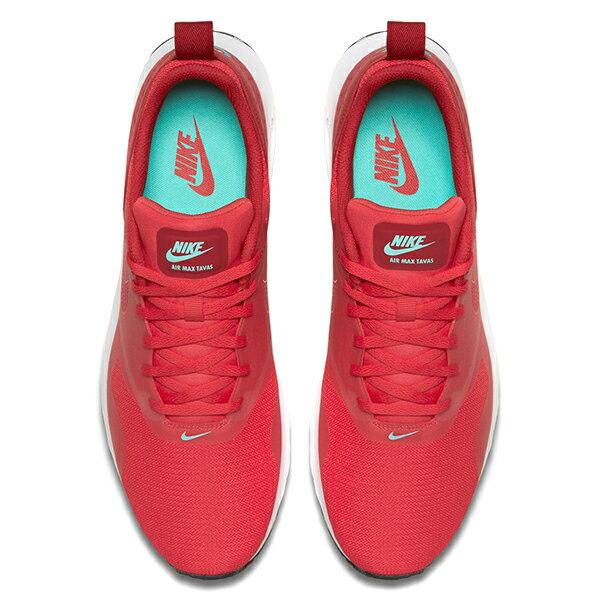 【EST S】Nike Air Max Tavas 705149-603 紅白黑網布慢跑鞋 男鞋 G1012 2