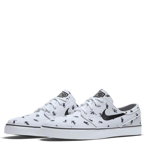 【EST S】Nike Zoom Stefan Janoski Cnvs Prm 705190-101 休閒 滑板鞋 男鞋 白 G1011 1