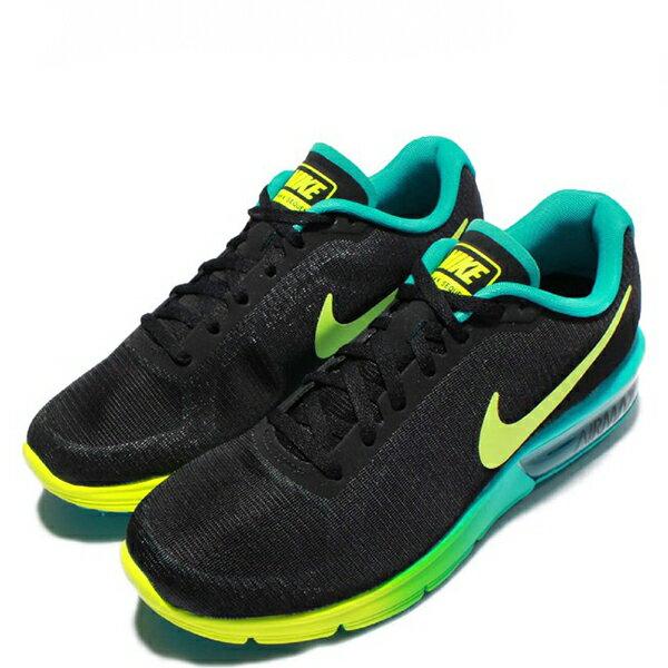 【EST S】Nike Air Max Sequent 719916-013 黑黃綠漸層大氣墊 女鞋 G1012 1