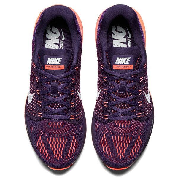 【EST S】Nike Lunarglide 7 747356-500 漸層 編織 慢跑鞋 女鞋 G1011 2