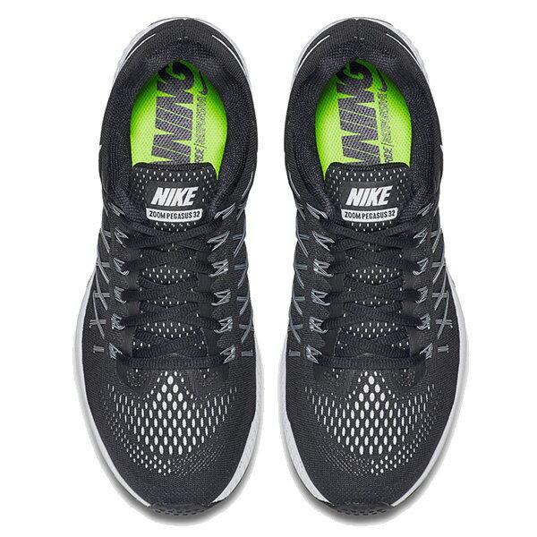 【EST S】Nike Air Zoom Pegasus 32 749340-001 飛線 編織 慢跑鞋 男鞋 黑 G1011 2