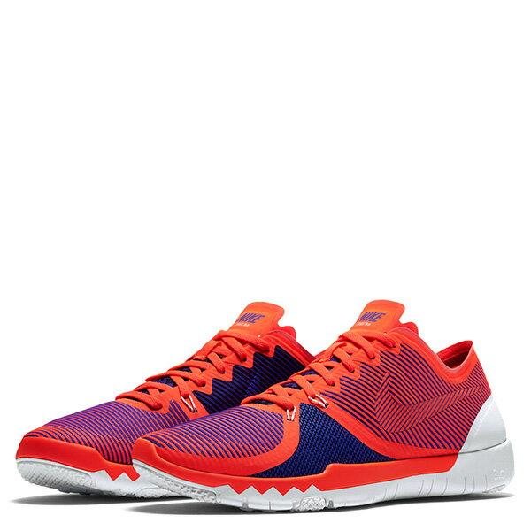 【EST S】Nike Free Trainer 3.0 V4 749361-840 條紋 赤足 慢跑鞋 男鞋 橘 G1011 1