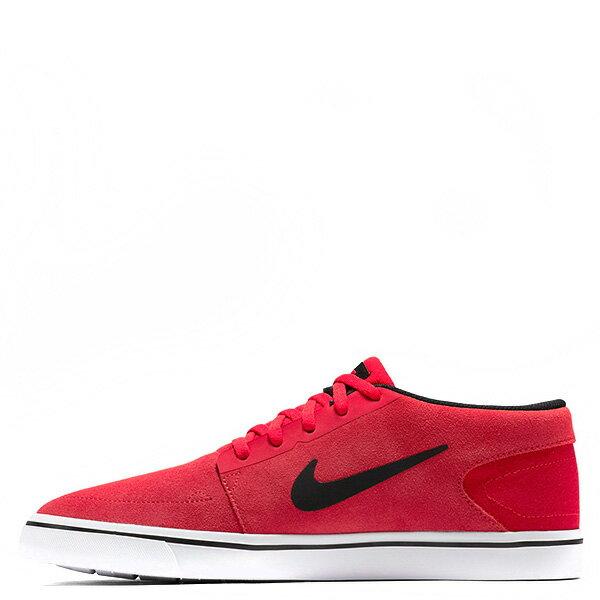 【EST S】Nike Sb Portmore Mid 749633-600 中筒 麂皮 黑線 休閒鞋 男鞋 紅 G1011