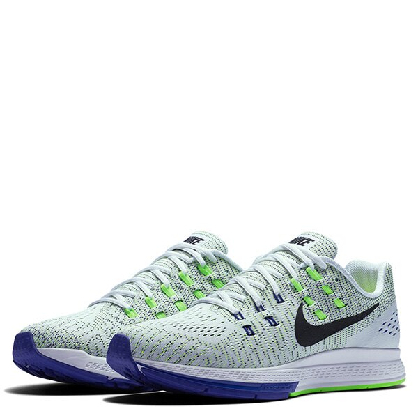 【EST S】Nike Air Zoom Structure 19 806580-100 飛線 編織 慢跑鞋 男鞋 白 G1011 1