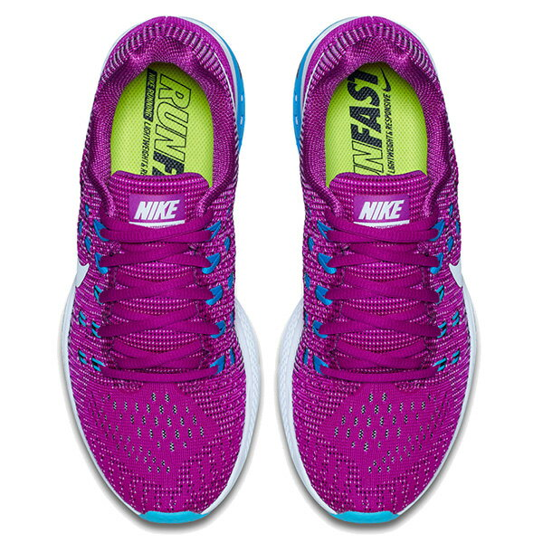 【EST S】Nike Air Zoom Structure 19 806580-500 飛線 編織 慢跑鞋 女鞋 紫 G1011 2