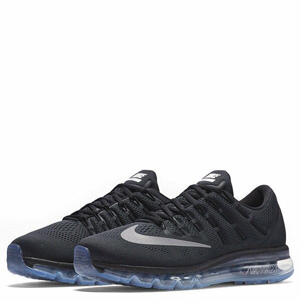 【EST S】Nike Air Max 2016 806771-001 反光 冰底 全氣墊 慢跑鞋 男鞋 黑 G1011 1