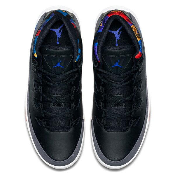 【EST S】Nike Jordan Air Deluxe 807717-035 皮革 氣墊 籃球鞋 男鞋 黑灰 G1011 2