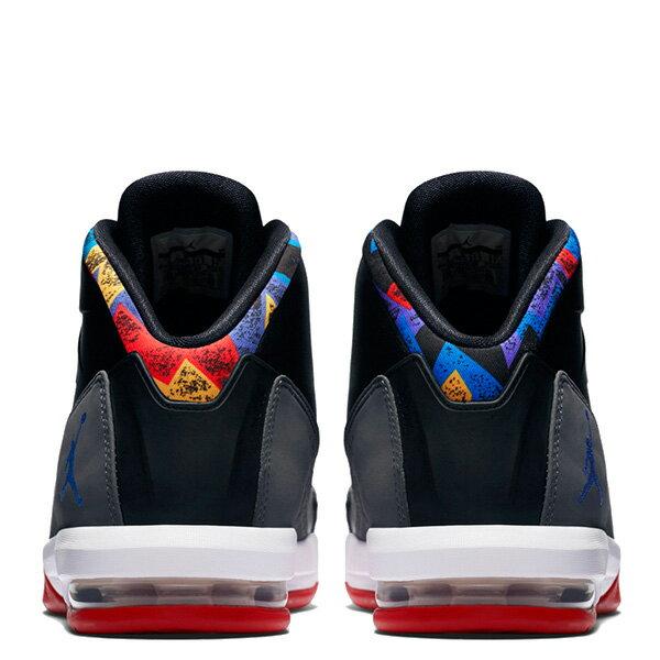 【EST S】Nike Jordan Air Deluxe 807717-035 皮革 氣墊 籃球鞋 男鞋 黑灰 G1011 3