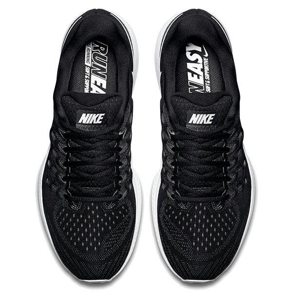 【EST S】Nike Air Zoom Vomero 11 818099-001 無縫線 飛線 慢跑鞋 男鞋 黑 G1011 2