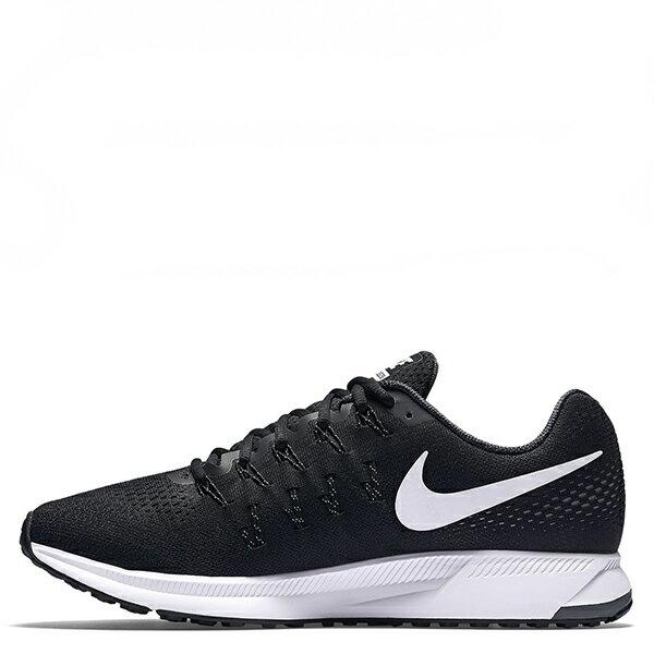 【EST S】Nike Air Zoom Pegasus 33 831352-001 飛線慢跑鞋 黑白 G1111