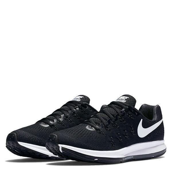 【EST S】Nike Air Zoom Pegasus 33 831356-001 飛線 慢跑鞋 女鞋 黑 G1011 1