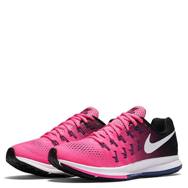 【EST S】Nike Air Zoom Pegasus 33 831356-600 飛線 慢跑鞋 女鞋 粉 G1011 1