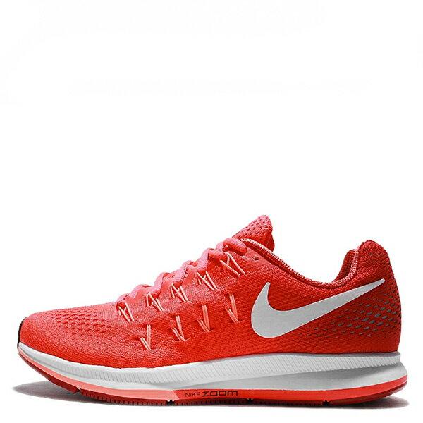 【EST S】Nike Air Zoom Pegasus 33 831356-601 飛線慢跑鞋 橘紅 漸層 G1111