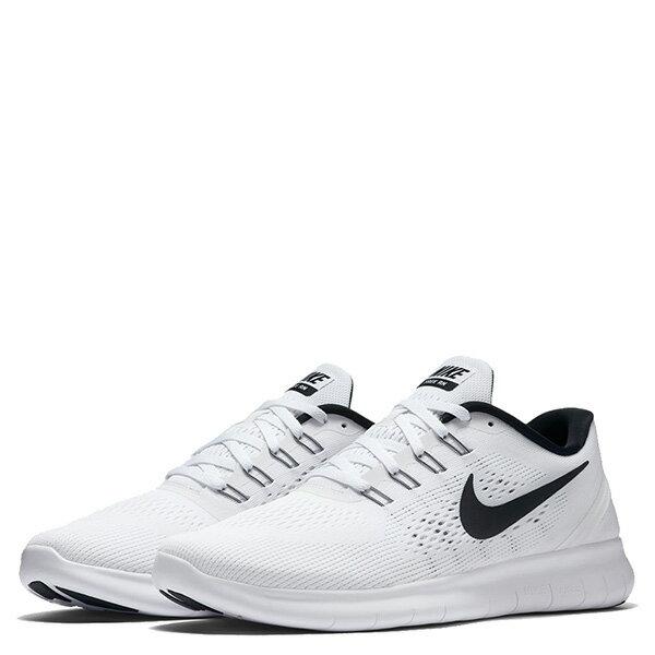 【EST S】Nike Free Rn 831508-100 反光 輕量 赤足 訓練 慢跑鞋 男鞋 白 G1011 1