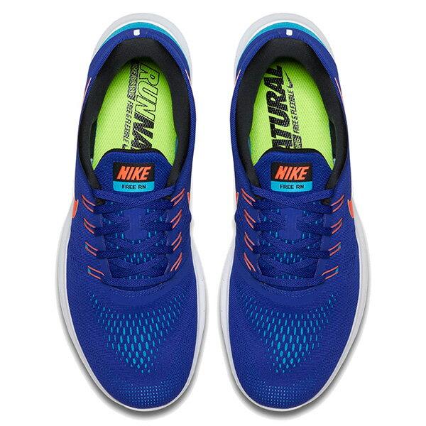 【EST S】Nike Free Rn 831508-401 反光 輕量 赤足 訓練 慢跑鞋 男鞋 藍 G1011 2