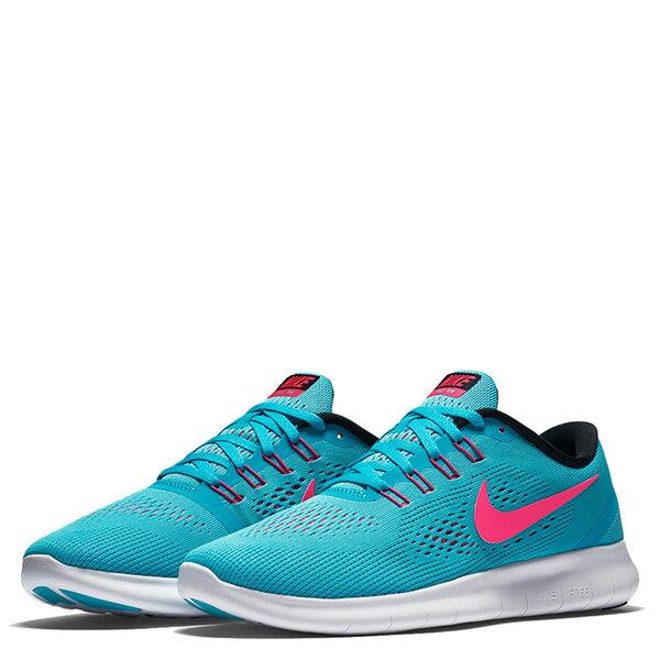 【EST S】Nike Free Rn 831509-401 反光 輕量 赤足 訓練 慢跑鞋 女鞋 藍 G1011 1
