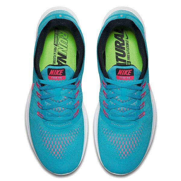 【EST S】Nike Free Rn 831509-401 反光 輕量 赤足 訓練 慢跑鞋 女鞋 藍 G1011 2