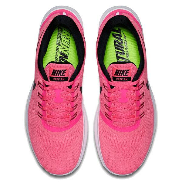 【EST S】Nike Free Rn 831509-600 反光 輕量 赤足 訓練 慢跑鞋 女鞋 粉 G1011 2
