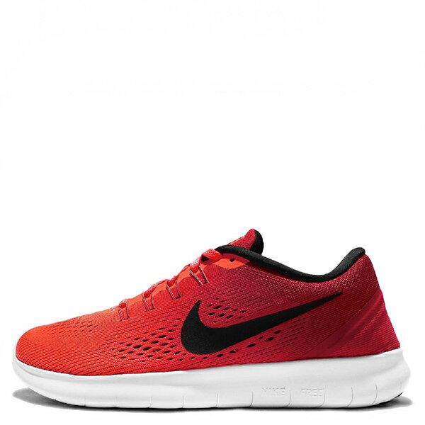 【EST S】Nike Free Rn 831509-801 編織赤足透氣慢跑鞋 橘黑白 G1111