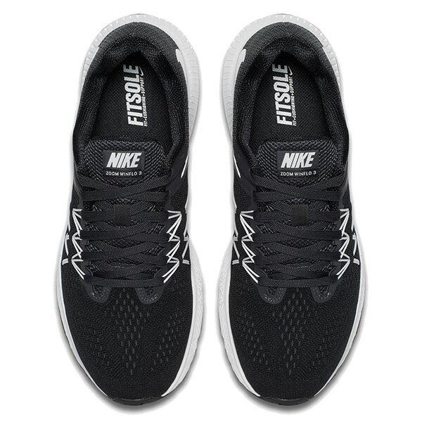 【EST S】Nike Zoom Winflo 3 831562-001 輕量 飛線 慢跑鞋 女鞋 黑 G1011 2